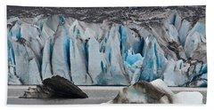 Mendenhall Glacier Juneau Alaska 1698 Bath Towel by Michael Bessler
