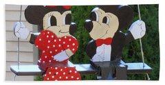 Mickey And Minnie Mouse Bath Towel
