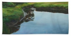 Mirror Creek In Essex Hand Towel