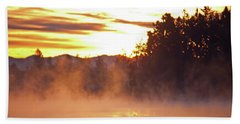 Misty Sunrise Hand Towel by Tikvah's Hope