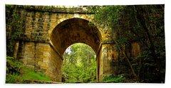 Mitchells Pass Bridge Lapstone A Convict Built Bridge Hand Towel