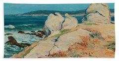 Monterey Coast Bath Towel