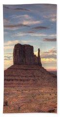 Monument Valley - West Mitten Butte Bath Towel