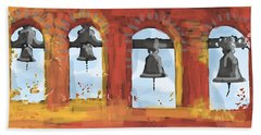 Morning Mission Bells Hand Towel