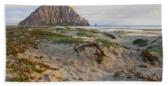 Morro Rock Hand Towel by Heidi Smith