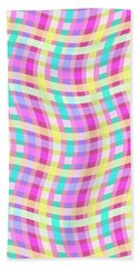 Multi Check Hand Towel