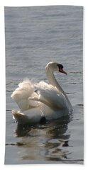 Mute Swan Bath Towel