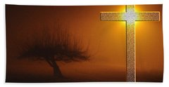 Bath Towel featuring the photograph My Life In God's Hands 3 To 4 Ration by Clayton Bruster