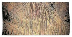 Bath Towel featuring the photograph Mystery Garden 13 by Andrew Drozdowicz