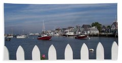 Nantucket Harbor Hand Towel