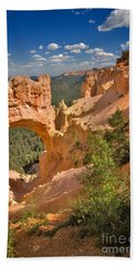 Natural Bridge In Bryce Canyon National Park Bath Towel
