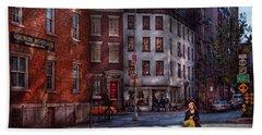 New York - City - Greenwich Village - Northern Dispensary  Hand Towel