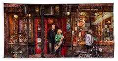 New York - Store - Greenwich Village - Three Lives Books  Hand Towel