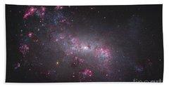 Ngc 4449, An Irregular Galaxy Hand Towel