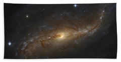 Ngc 7479, Barred Spiral Galaxy Hand Towel