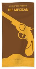 No077 My The Mexican Minimal Movie Poster Hand Towel