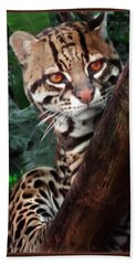 Ocelot Lookout Bath Towel