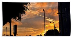 October Sunset 6 Hand Towel