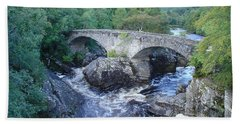 Old Bridge At Invermoriston Hand Towel