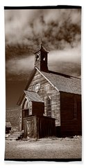 Old Church In Bodie California Hand Towel