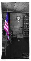 Bath Towel featuring the photograph Old Glory by Deniece Platt