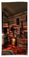 Old Log Cabin Bath Towel