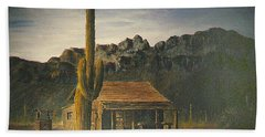 Old Tucson Home Hand Towel