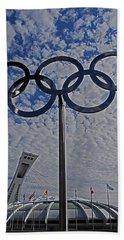 Olympic Stadium Montreal Hand Towel