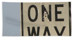 One Way Bath Towel
