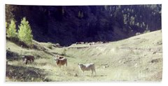 Bath Towel featuring the photograph Open Range by Bonfire Photography