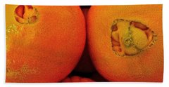 Bath Towel featuring the photograph Oranges by Bill Owen