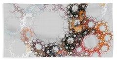 Hand Towel featuring the digital art Orbital by Kim Sy Ok