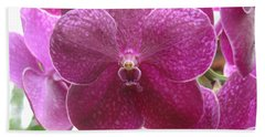 Orchid Cluster Hand Towel