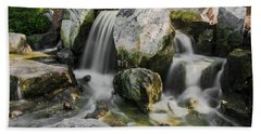 Osaka Garden Waterfall Hand Towel