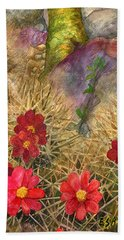 Palo Verde 'mong The Hedgehogs Bath Towel