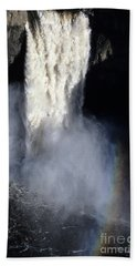 Palouse Falls Bath Towel by Sharon Elliott