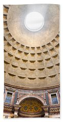 Bath Towel featuring the photograph Pantheon  by Luciano Mortula