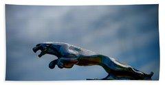 Panther Hoodie Hand Towel by Douglas Pittman
