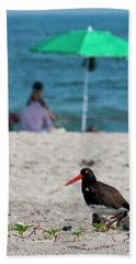 Parenting On A Beach Hand Towel