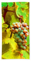 Paschke Grapes Hand Towel