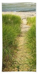 Path To Beach Hand Towel