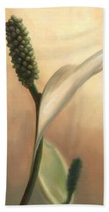 Peace Lily Hand Towel