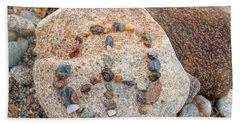Peace Rocks Hand Towel