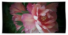Peonies No. 8 Bath Towel