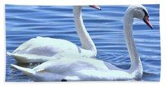 Swan Song Bath Towel