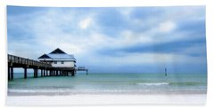 Pier 60 At Clearwater Beach Florida Hand Towel