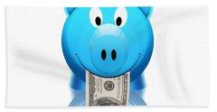 Piggy Bank Hand Towel
