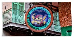 Pirates Alley Cafe Bath Towel