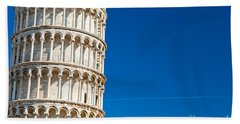 Hand Towel featuring the photograph Pisa Leaning Tower by Luciano Mortula