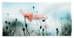 Poppy Flowers 02 Hand Towel